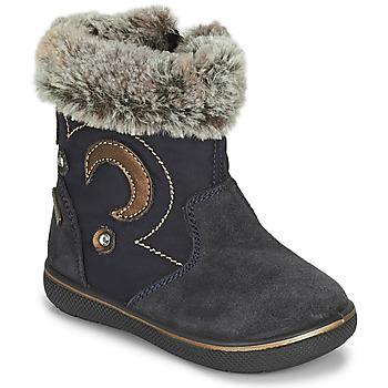 Shoes Girl Snow boots Primigi SNORKY GTX Marine / Brown