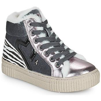 Shoes Girl Hi top trainers Primigi GIRL ALPHA Silver