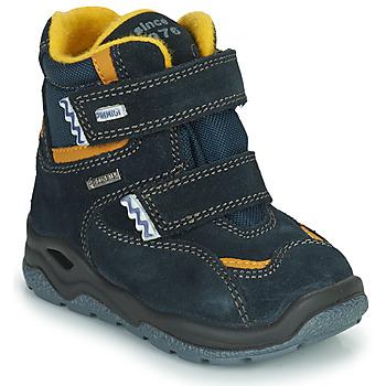 Shoes Boy Snow boots Primigi GARY GTX Marine / Yellow