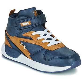 Shoes Boy Hi top trainers Primigi B&G MEGA Blue / Brown