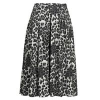 Clothing Women Skirts See U Soon 21232098 Black / White