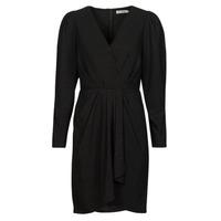 Clothing Women Short Dresses See U Soon 21222038 Black