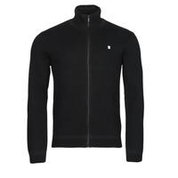 Clothing Men Jackets / Cardigans Teddy Smith G ETTORE Black