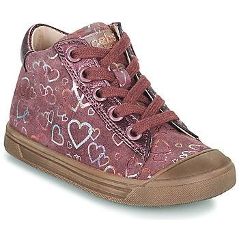 Shoes Girl Hi top trainers Acebo's 5533EL-GRANADA Pink