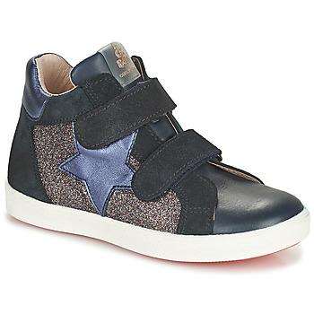 Shoes Girl Hi top trainers Acebo's 5541SX-MARINO Marine