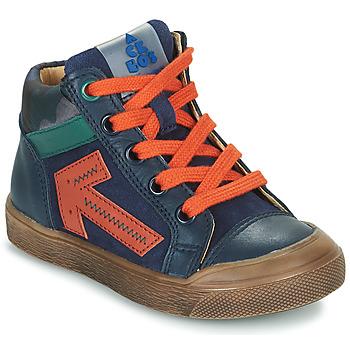 Shoes Boy Hi top trainers Acebo's 5567-MARINO-J Marine