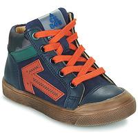 Shoes Boy Hi top trainers Acebo's 5567-MARINO-I Marine