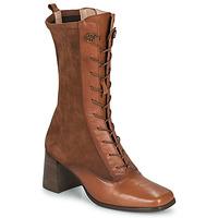 Shoes Women High boots Hispanitas CHIARA Brown