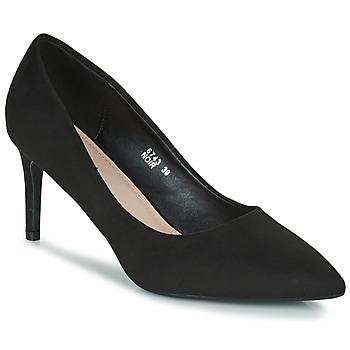 Shoes Women Heels Moony Mood PEROLINE Black