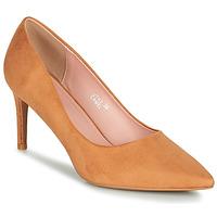 Shoes Women Heels Moony Mood PEROLINE Camel