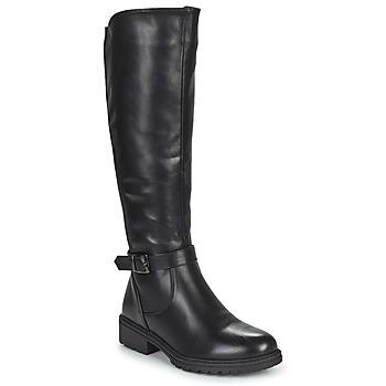 Shoes Women Loafers Moony Mood PAULIN Black