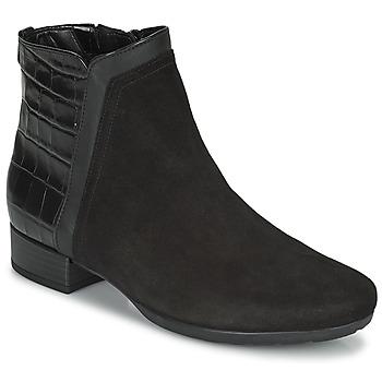 Shoes Women Ankle boots Gabor 7271227 Black