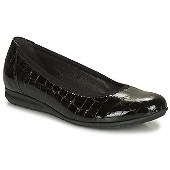 Shoes Women Flat shoes Gabor 7262087 Black