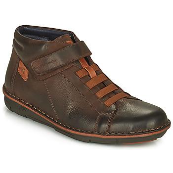 Shoes Men Hi top trainers Fluchos ALFA Brown