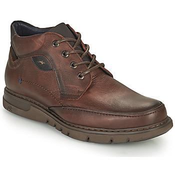 Shoes Men Mid boots Fluchos CELTIC Brown