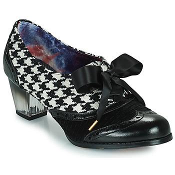 Shoes Women Heels Irregular Choice CORPORATE BEAUTY Black / White