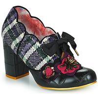 Shoes Women Heels Irregular Choice KIND WORDS Black