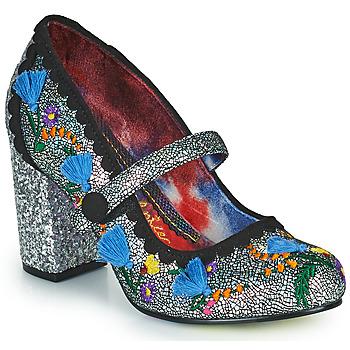 Shoes Women Heels Irregular Choice THISTLE DARLING Silver