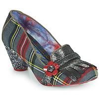 Shoes Women Heels Irregular Choice HIGHLAND HAVEN Grey / Red
