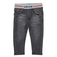 Clothing Boy Skinny jeans Levi's THEWARMPULLONSKINNY JEAN Grey