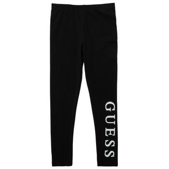 Clothing Girl Leggings Guess PELINNA Black