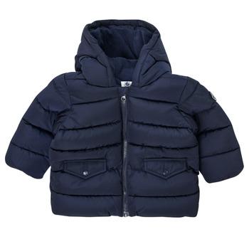 Clothing Boy Duffel coats Petit Bateau COLINE Blue