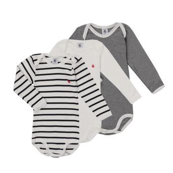 Clothing Children Sleepsuits Petit Bateau TEBINE Multicolour