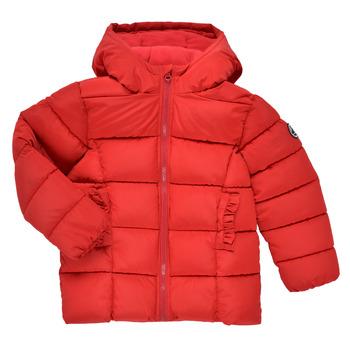 Clothing Girl Duffel coats Petit Bateau TYLA Red