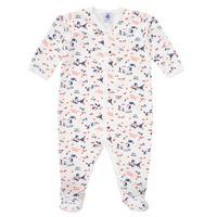 Clothing Girl Sleepsuits Petit Bateau LEA Multicolour