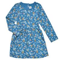 Clothing Girl Short Dresses Petit Bateau EMILIENNE Multicolour