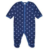 Clothing Boy Sleepsuits Petit Bateau BENIR Blue / White
