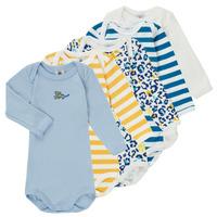 Clothing Boy Sleepsuits Petit Bateau FEDDY Multicolour