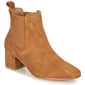 Shoes Women High boots Levi's DELILAH CHELSEA Brown