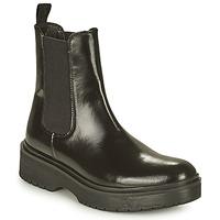 Shoes Women Mid boots Levi's LENNA HI Black