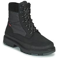 Shoes Men Mid boots Levi's TORSTEN QUILTED Black