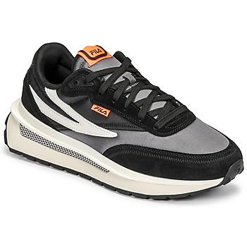 Shoes Men Low top trainers Fila RENNO Black