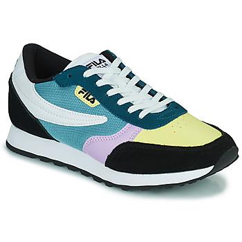Shoes Women Low top trainers Fila ORBIT CB LOW Blue / Black