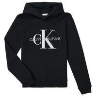 Clothing Children Sweaters Calvin Klein Jeans TRINIDA Black