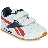 Shoes Children Low top trainers Reebok Classic REEBOK ROYAL CLJOG 2 2V White / Marine / Red