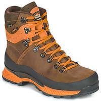 Shoes Men Walking shoes Meindl ISLAND MFS ROCK Brown / Orange