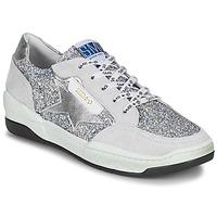 Shoes Women Low top trainers Semerdjian CHLO Silver / Beige