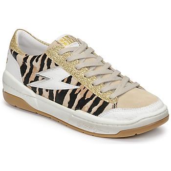 Shoes Women Low top trainers Semerdjian THEO Beige