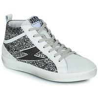 Shoes Women Hi top trainers Semerdjian ALFA Beige / Black