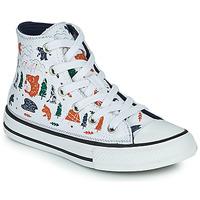 Shoes Boy Hi top trainers Converse CHUCK TAYLOR ALL STAR EXPLORER HI White / Multicolour