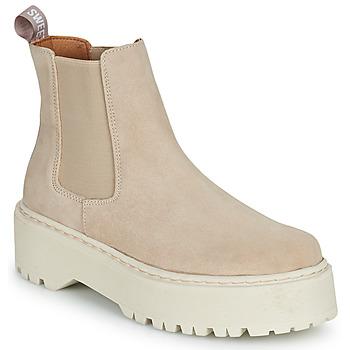 Shoes Women Mid boots Sweet Lemon NYMA Beige