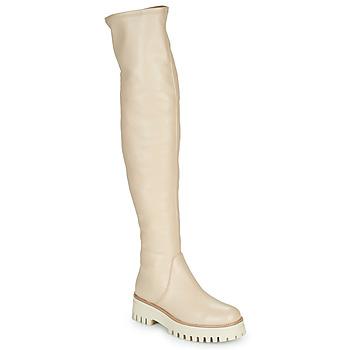 Shoes Women High boots Sweet Lemon PALETA Beige
