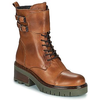 Shoes Women Mid boots Sweet Lemon PARDIS Cognac