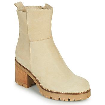 Shoes Women Mid boots Sweet Lemon PIABLO Beige