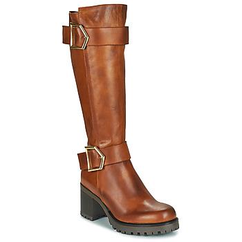 Shoes Women High boots Sweet Lemon PIPPA Cognac