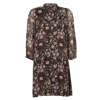 Clothing Women Short Dresses Ikks BOTELA Black